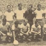 Selección salvadoreña que disputó el mundial de México 70.