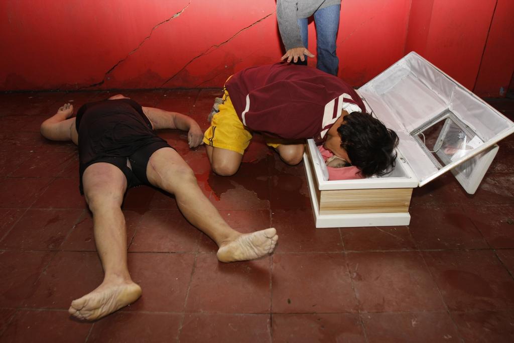 Papá y niño muerto en deslave de Verapaz.