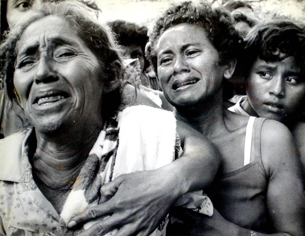 Tres generaciones. Emboscada en ciudad Barrios. El soldado era hijo de la señora. Era esposo y padre.