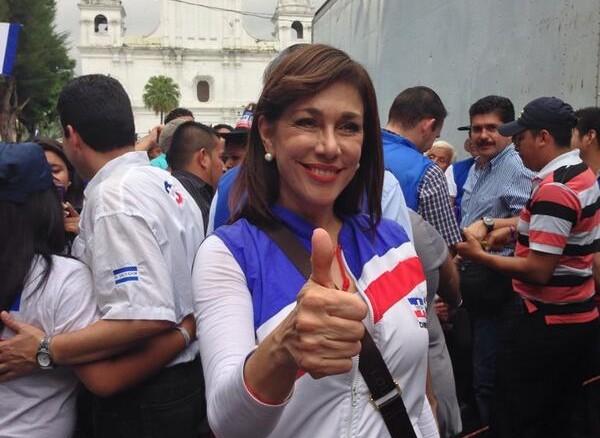 La diputada de ARENA, Ana Vilma de Escobar./ FOTO D1: @defiende_tuvoto