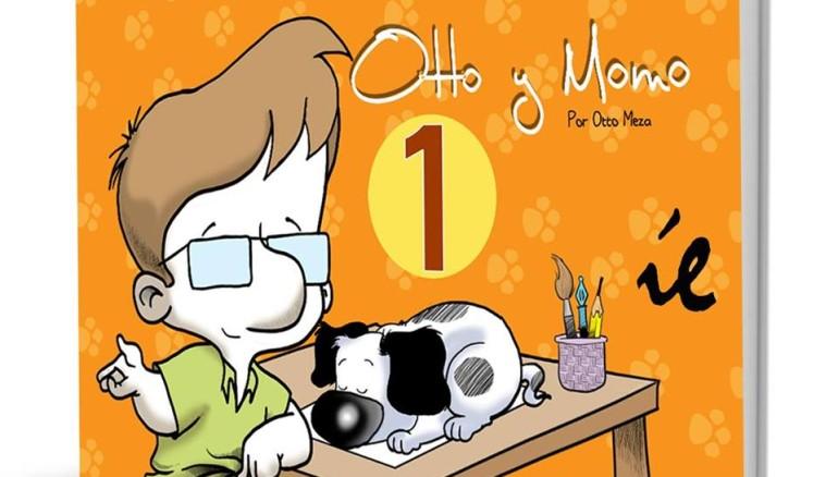Otto y Momo, del caricaturista Otto Meza. Foto cortesía de Otto Meza.