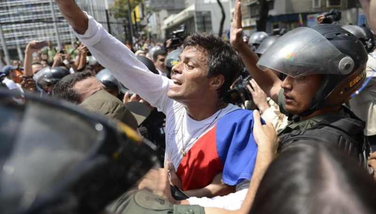 El líder opositor, Leopoldo López. Foto archivo de AFP.