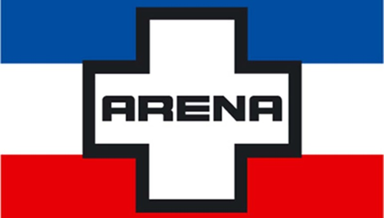 Bandera ARENA.