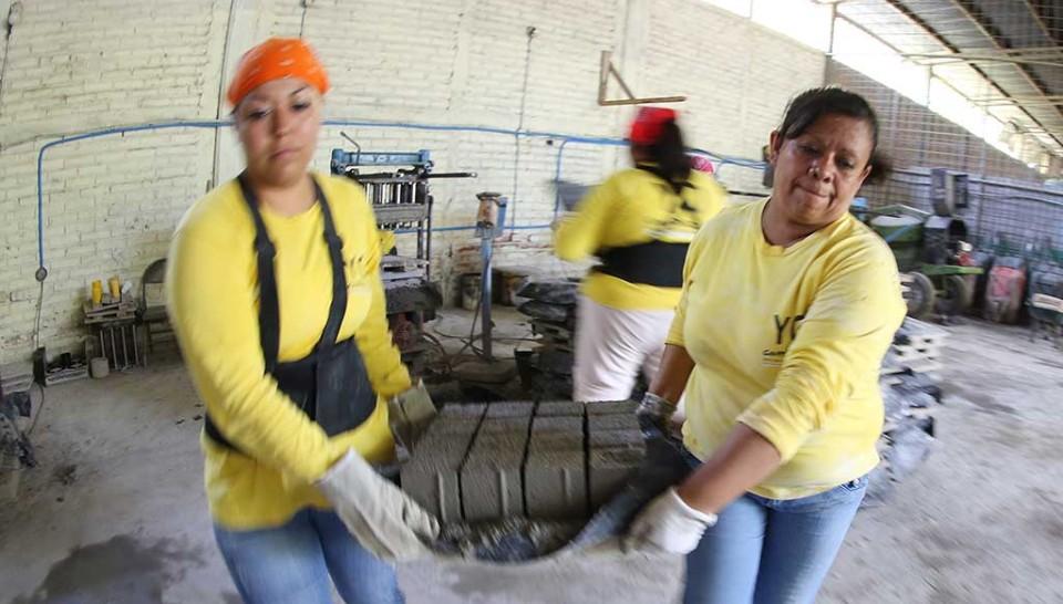Las chicas maman trabajos lentamente