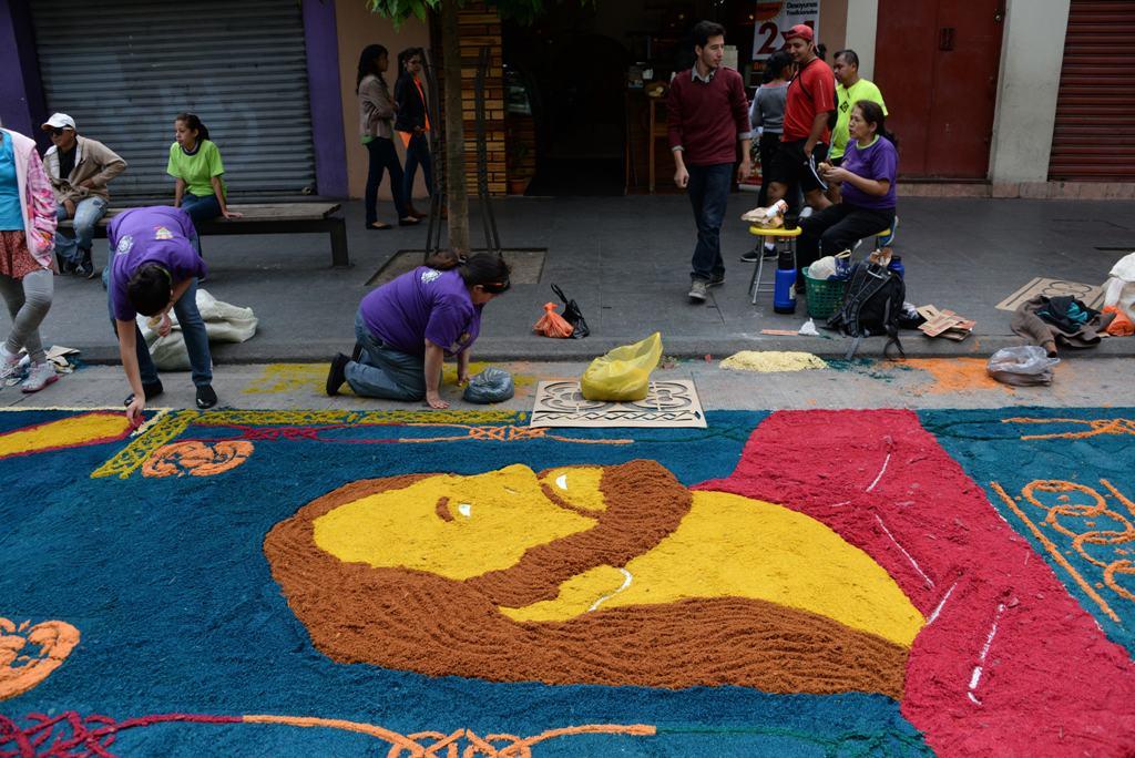 Imag nes guatemaltecos obtienen nuevo r cord guinness por - Mundo alfombra ...
