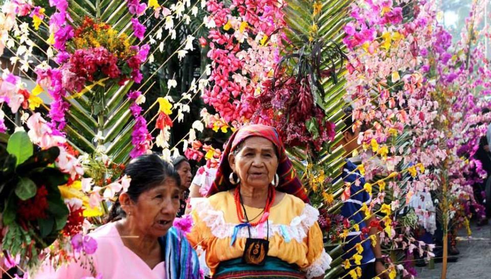 La fiesta de las Palmas en Panchimalco - Diario1
