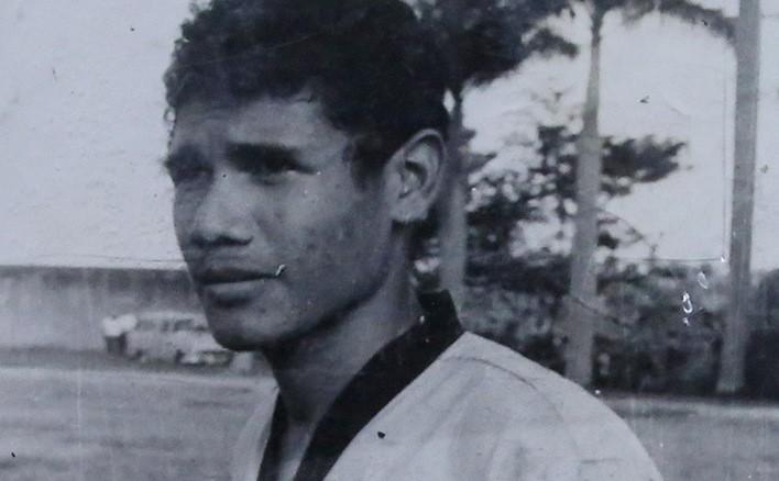 """Luis Baltazar """"El Pelé"""" Zapata."""