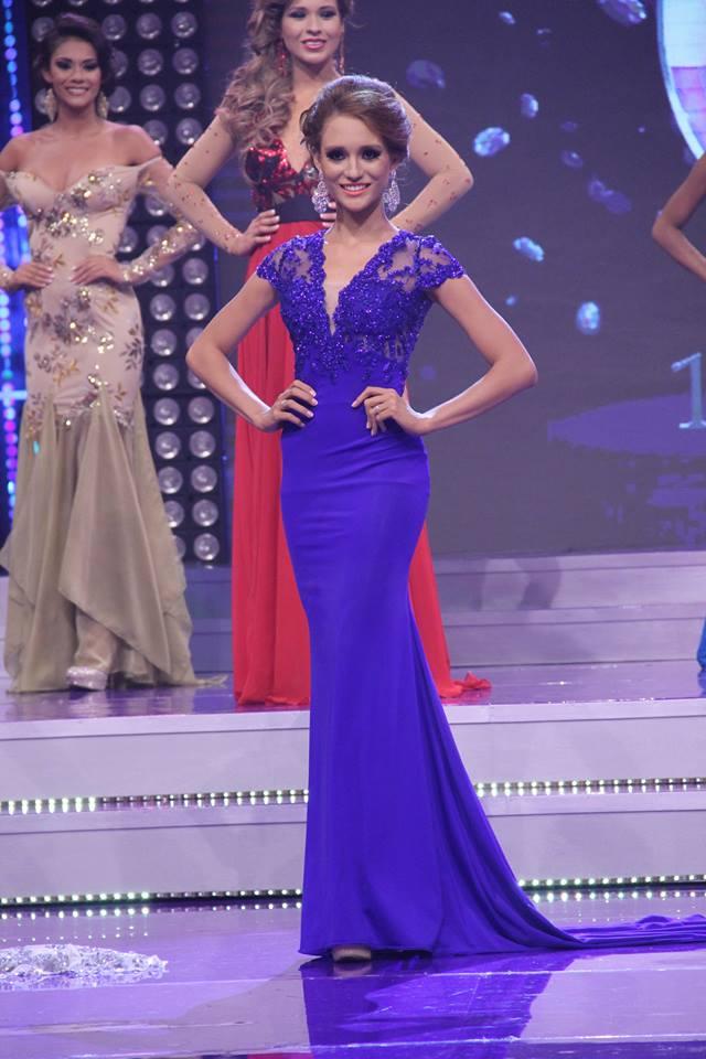 Sofía Trigueros, finalista. fOTO d1: Facebook oficial de Nuestra Belleza El Salvador.