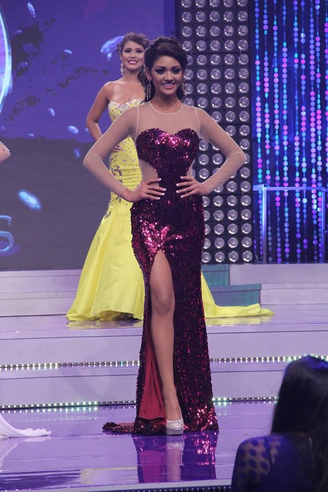Yanira Interiano. Finalista del certámen. Foto D1: Facebook oficial de Nuestra Belleza El Salvador