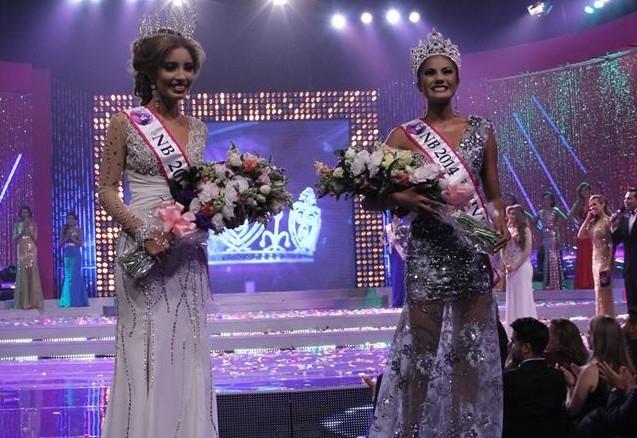 Patricia Murillo y Larissa Vega, reinas y representantes de El Salvador en Miss Universo y Miss Mundo, respectivamente. Foto D1: Facebook oficial de Nuestra Belleza El Salvador.