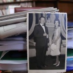 María Isabel Rodríguez junto a su esposo, Víctor Sutter. D1/ Nelson Dueñas.