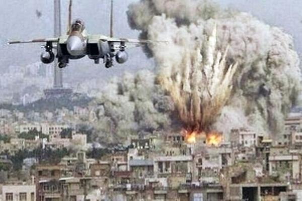 Resultado de imagen para bombardeo de eeuu a siria