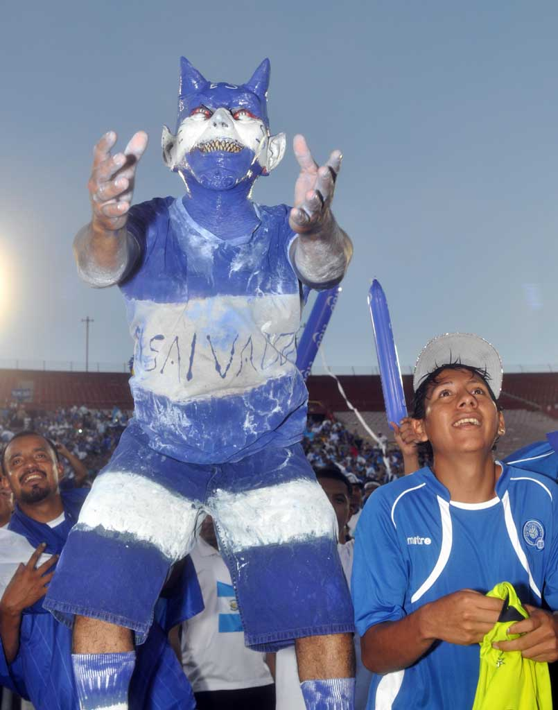 Copa Centroamericana 2014: El Salvador 0 Panama 1. Afición-ESA