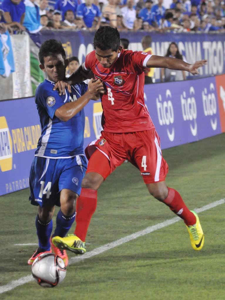 Copa Centroamericana 2014: El Salvador 0 Panama 1. ESA-Panamá