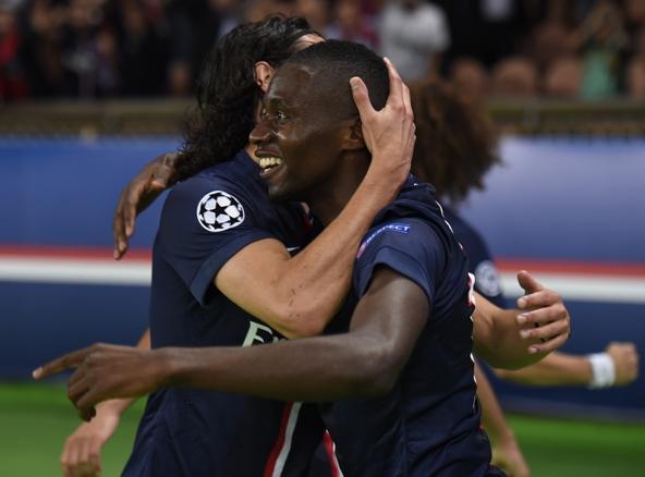 Blaise Matuidi fue el verdugo del Barcelona en la victoria del PSG 3-2 en el Parque de los príncipes. AFP.