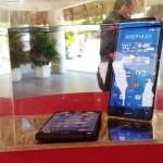 El Sony Xperia Z3 en exposición de resistencia al agua/ Fotografía D1 Karla Espinoza