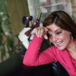 Aída Farrar, conductora del programa radial Pencho y Aída, aseguró sentirse sorprendida por su aparición en la revista Forbes, por ser una de las mujeres más influyentes de El Salvador. Foto D1/ Nelson Dueñas.
