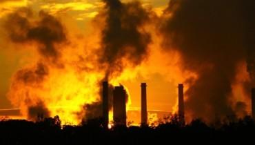 Foto tema calentamiento global.