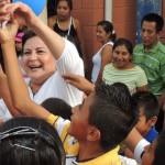 Margarita Escobar, candidata que busca la reelección como diputada de ARENA.