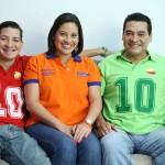 Su familia es su equipo de campaña/Fotografía D1 Nelson Dueñas.