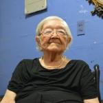 Doña Hilda Mónico, de 92 años, cuenta sus recuerdos de las elecciones de décadas atrás. Foto D1: Cortesía.