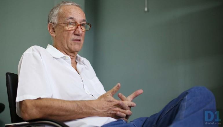 José María Tojeira, exrector de la UCA, foto D1/Nelson Dueñas.