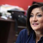 Candidata de ARENA por La Libertad, Karla Hernández. Foto D1 Nelson Dueñas.