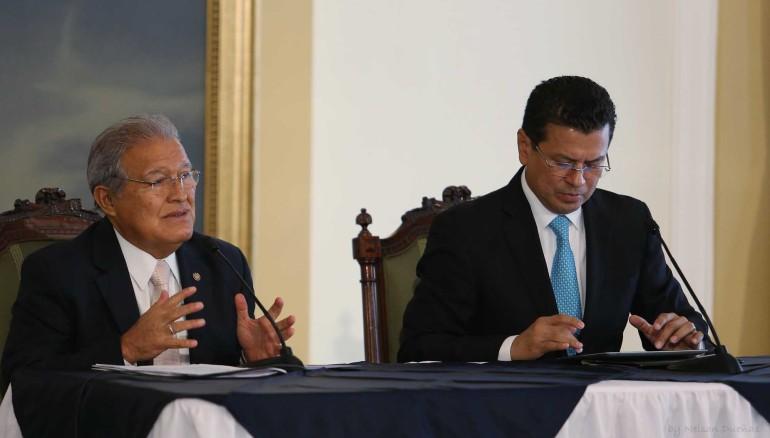 Conferencia Sánchez Cerén