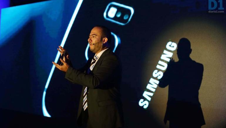 Ernesto Balcáceres, Gerente de Mercadeo, División Móvil de Samsung Electrónics El Salvador. Foto D1: Nelson Dueñas