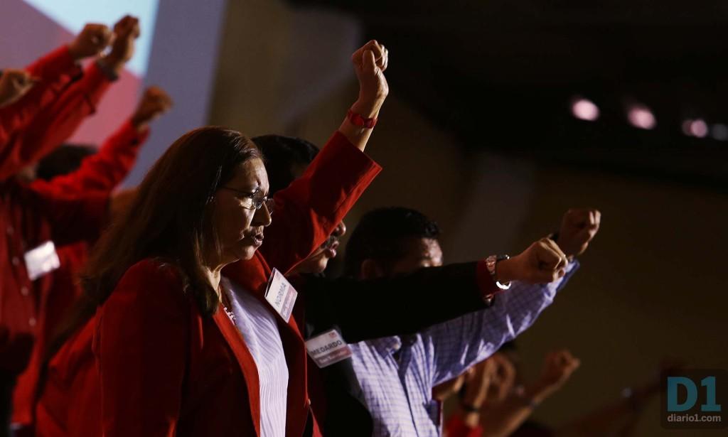 Norma Guevara, diputada del FMLN y miembro de la Comisión Política del FMLN. Foto D1: Nelson Dueñas.