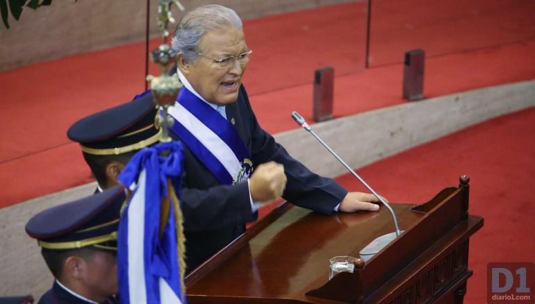 El presidente de la República, Salvador Sánchez Cerén. Foto D1: Nelson Dueñas.