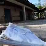 Cientos de familias abandonan sus casas en diferentes puntos del país, por las amenazas de los pandilleros. Foto D1: cortesía.