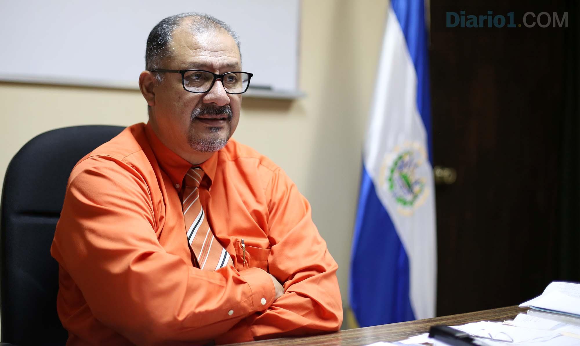 Sergio Mejía, director del Instituto Nacional Francisco Menéndez (INFRAMEN). Foto D1: Nelson Dueñas