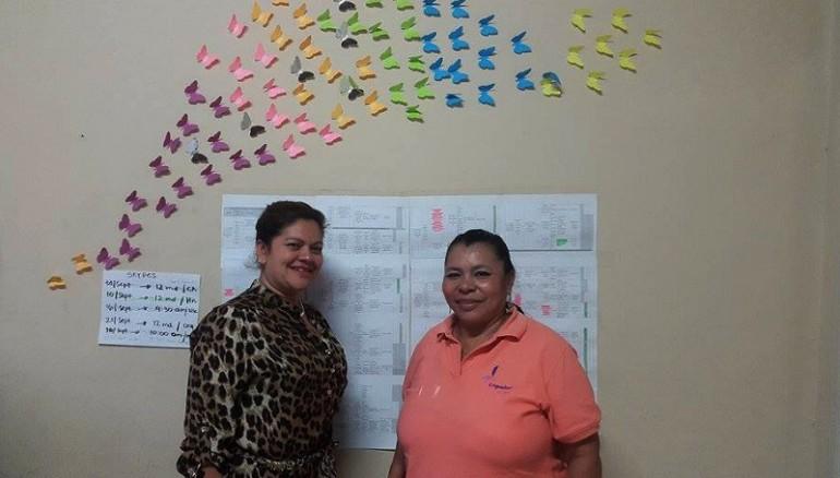 Haydee Laínes y María Consuelo Raymundo - Orquídeas del Mar - Foto D1:Bryan Avelar