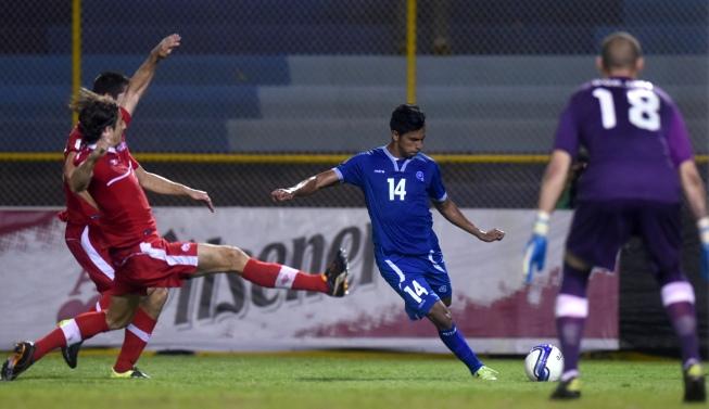 17-11-2015: Eliminatorias Copa Mundo Rusia 2018: El Salvador 0 Canada 0. Selecta10