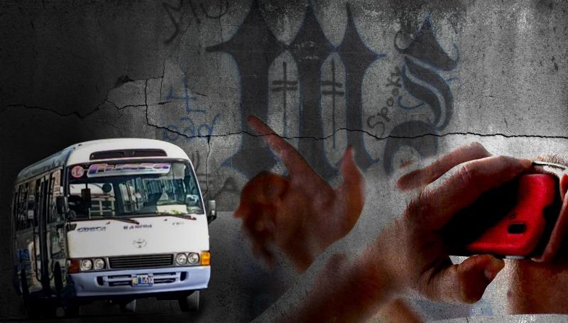 red de microbuseros de ruta 32 colaboraba con pandilla en mejicanos
