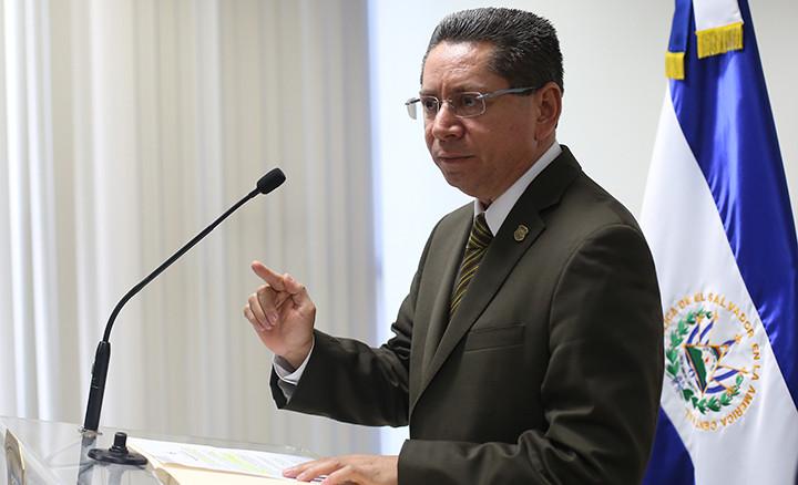 Fiscal General, Douglas Meléndez. Foto D1/Rodrigo Sura/Archivo