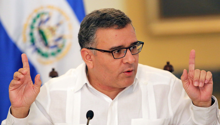 Mauricio Funes, expresidente de la República.