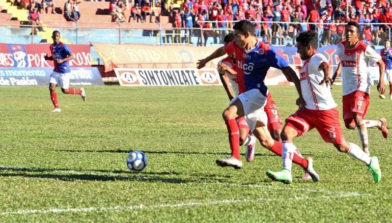 FAS ganó como local a los Pumas de la UES, 1-0. Foto D1/Cortesía Juan Cortéz.