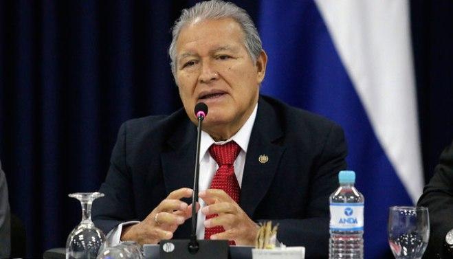 presidente Salvador Sánchez Cerén