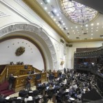 Vista general del Congreso de Venezuela. Foto D1, AFP.