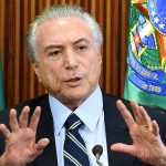 Michel Temer, expresidente de Brasil. Foto D1/Archivo