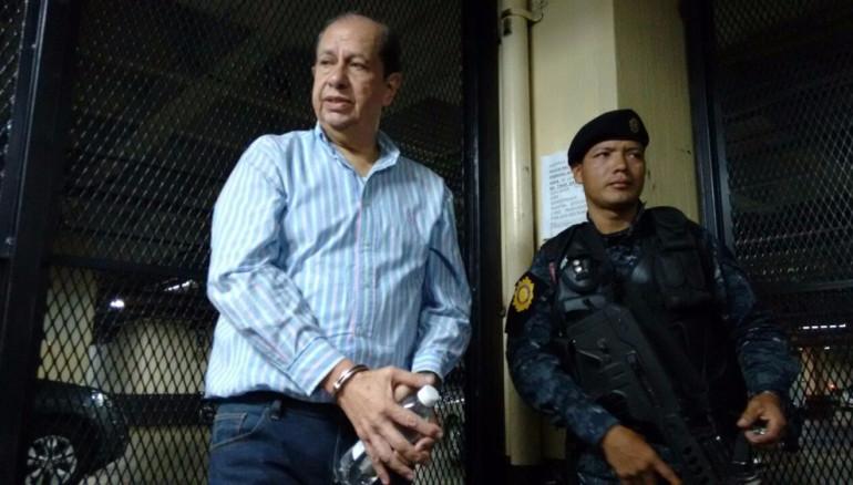 José Luis Mijangos, ex directivo parlamentario capturado.
