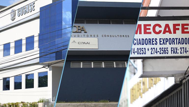 """Empresas ligadas a Miguel Menéndez """"Mecafé"""""""