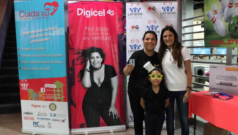 """Digicel El Salvador apoyará a la Fundación Latidos de Esperanza, con el torneo """"Bowling for Heart""""."""