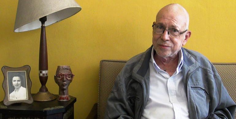 Escritor Ricardo Lindo. Foto de Secultura.