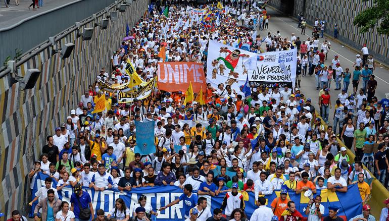 VENEZUELA-OPPOSITION-MARCH