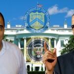 El presidente Barack Obama designó a José Adán Salazar (i) como capo del narcotráfico el 31 de mayo de 2014.