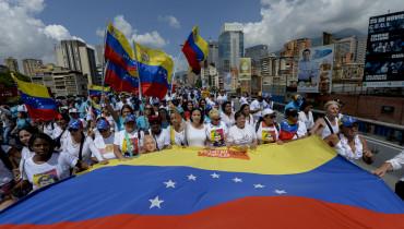VENEZUELA PROTESTA REVOCATORIO OPOSICION 2