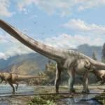 dinosaurio de cuello